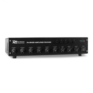 Dynamics PDV120Z 6 Canais PA Amplificador 4 Zonas 240W