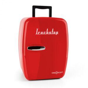 frigorífico unidade termoeléctrica 14 l adaptador 12V vermelho
