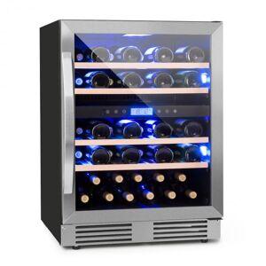 Vinovilla Duo43 Z Garrafeira Refrigeradora 2 Compartimentos 129l 43 Garrafas 3 Cores Porta de Vidro