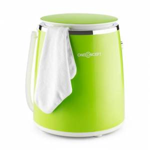 Ecowash-Pico Mini Máquina de lavar roupa, centrifugação 3,5 kg 380 W verde