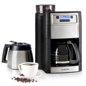 Aromatica II Duo Máquina de café, moinho integrado, 1,25 L preto