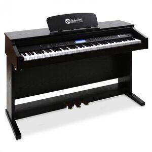 Piano Elétrico 88 Teclas MIDI 3 Pedais Negro