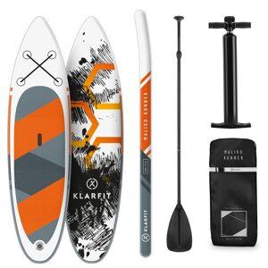 Maliko Runner Paddleboard inflável SUP-Board-Set 305x10x77 laranja