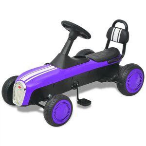 vidaXL Kart a pedais roxo