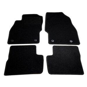 vidaXL Conjunto de tapetes para carro 4 pcs Opel Corsa D