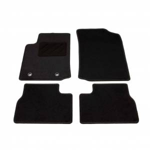 vidaXL 4 pcs conjunto tapetes de automóveis para Citroen C3