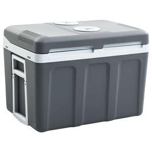 vidaXL Refrigerador/mala térmica portátil 45 L 12 V 230 V A ++