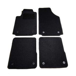 vidaXL 4 pcs conjunto tapetes de automóveis para Audi A2