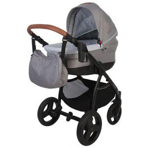 Bo Jungle Carrinho de bebé B-Zen 4-em-1 cinzento-claro B700505