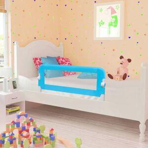 vidaXL Barra de segurança para cama de criança 2 pcs 102x42 cm azul