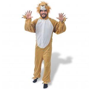 vidaXL Fantasia de carnaval leão, XL-XXL