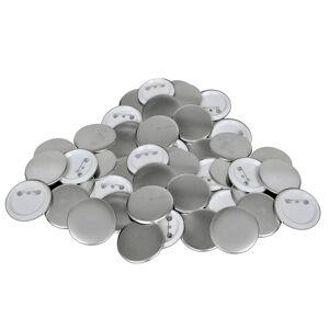 vidaXL Conjunto de 500 Peças Botões Pins de 58 mm