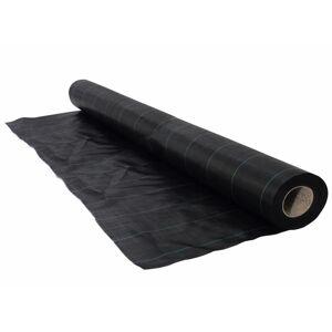 Nature Cobertura de solo p/ controlo ervas 1x50 m preto