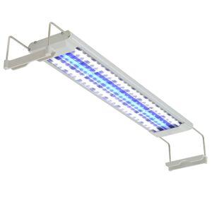 vidaXL Iluminação aquário LED 50-60 cm alumínio IP67