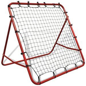 vidaXL Reboteiro (Rebounder) KickBack para Futebol, Ajustável, 100 x 100 cm