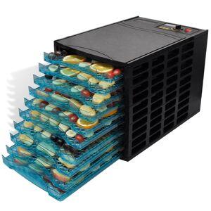 vidaXL Desidratador de alimentos com 10 bandejas (quadrado)