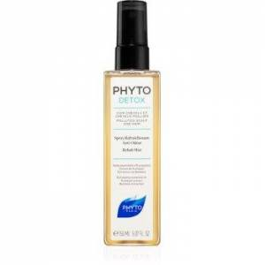 Phyto Detox névoa refrescante para cabelo exposto à poluição 150 ml. Detox
