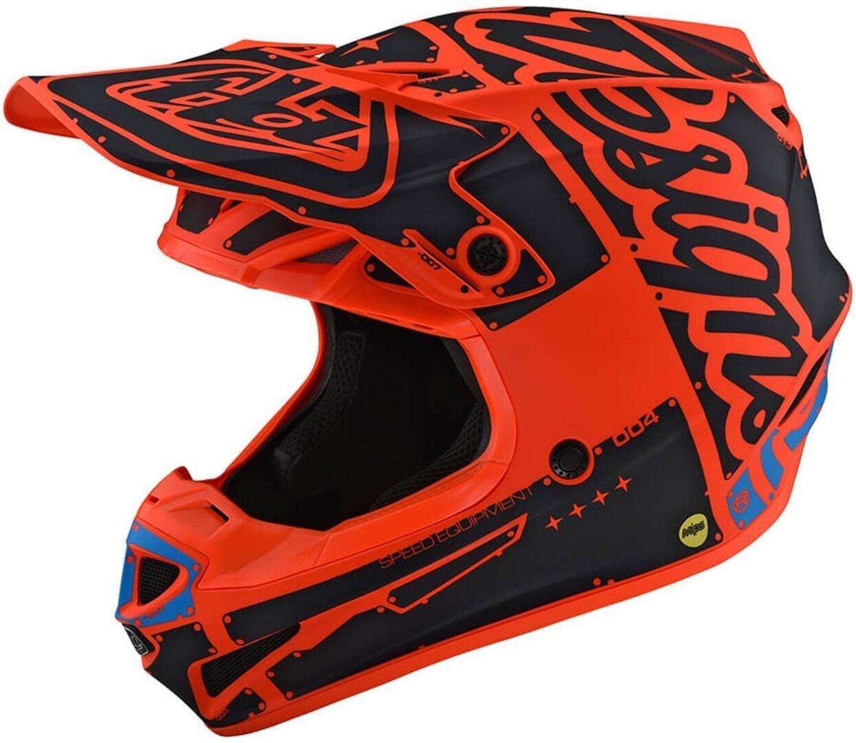Troy Lee Designs SE4 Polyacrylite Factory Capacete de Motocross