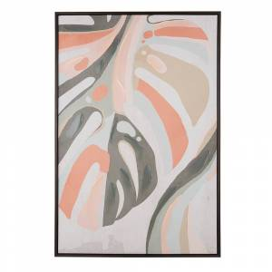 Quadro decorativo com moldura 63 x 93 cm multicolor BANZENA