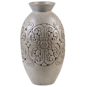 Vaso decorativo cinzento ELEUSIS