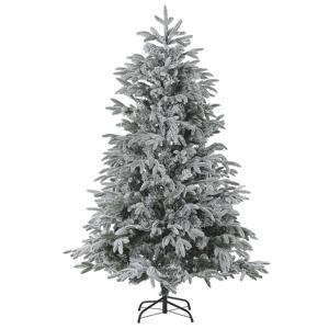 Árvore de natal efeito de neve 210 cm branca HUXLEY