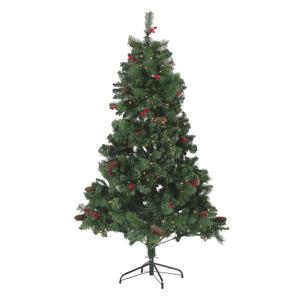 Árvore de natal pré-Iluminada 180 cm verde JACINTO