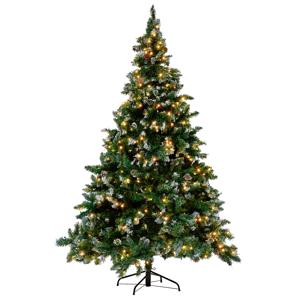 Árvore de natal pré-Iluminada 180 cm verde PALOMAR