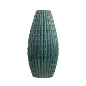 Vaso decorativo 41 cm verde azulado DELFIA