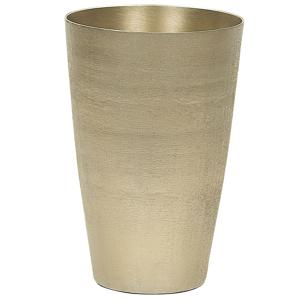 Vaso decorativo em alumínio dourado AMRIT