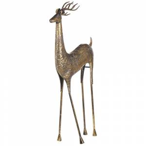 Figura decorativa dourada 126 cm PELLO