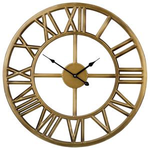 Relógio de parede dourado NOTTWIL