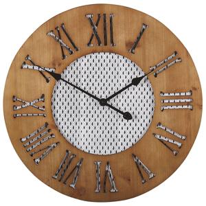 Relógio de parede castanho claro ø 60 cm CUILCO