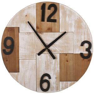 Relógio de parede castanho claro ø 60 cm MICHAPAN