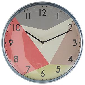 Relógio de parede multicolor ø 33 cm DAVOS