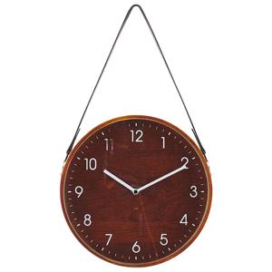 Relógio de parede castanho ø26 cm RENENS