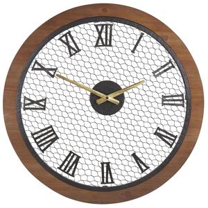 Relógio de parede castanho escuro ø 54 cm FUBEROS