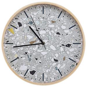 Relógio de parede azul claro ø 31 cm GORDOLA