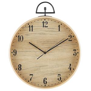 Relógio de parede castanho claro 40 cm OPFIKON