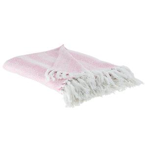 Manta rosa 130 x 160 cm TANGIER