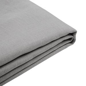 Capa de tecido cinza para a cama 180 x 200 cm FITOU