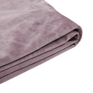Capa em veludo rosa para a cama 180 x 200 cm FITOU