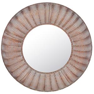 Espelho de parede cobre ø 77 cm GODHRA