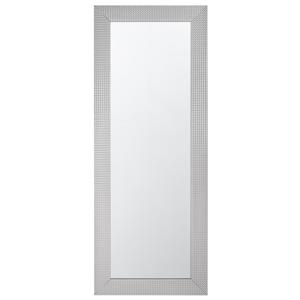 Espelho de parede 50 x 130 cm prateado DERVAL