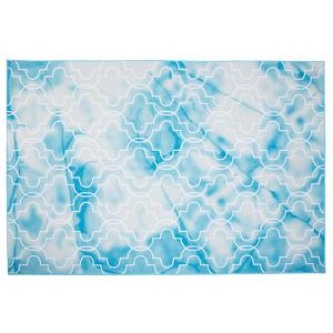 Tapete de pêlo curto 140 x 200 cm azul claro ELAZIG