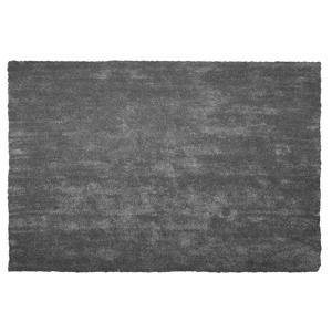 Tapete shaggy 160 x 230 cm cinzento escuro DEMRE
