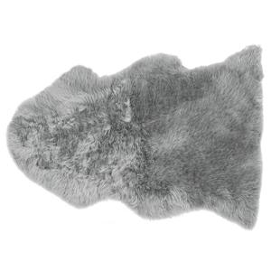 Pele de ovelha cinzento claro ULURU