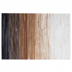 Tapete em pele genuína 140 x 200 cm multicolor BEYLI