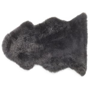 Pele de ovelha cinzento escuro ULURU