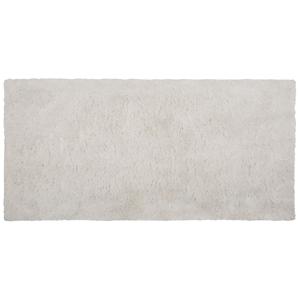 Tapete de poliéster 80 x 150 cm branco EVREN