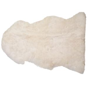 Pele de ovelha branca ULURU